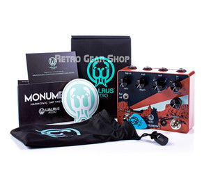 Walrus Audio Monument Box Manual Extras