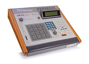 Akai MPC-60 Mk1 + Wood Upgrades Rare Vintage Sampling Drum Machine MPC60
