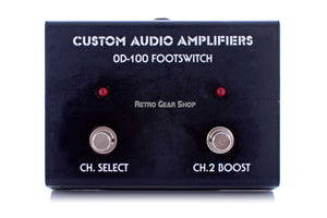 Custom Audio Amplifiers PT-100 Footswitch