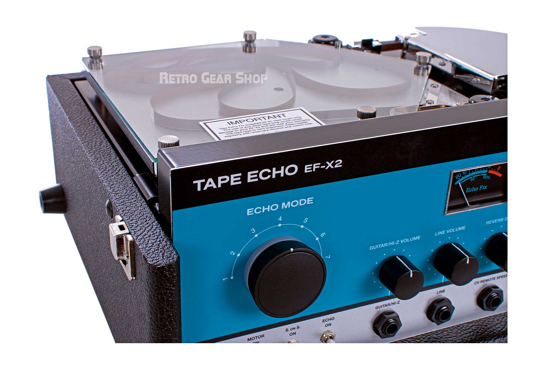 Echo Fix EF-X2 Tape Delay Echo Spring DSP Reverb Effect Replica RE-201 Reissue