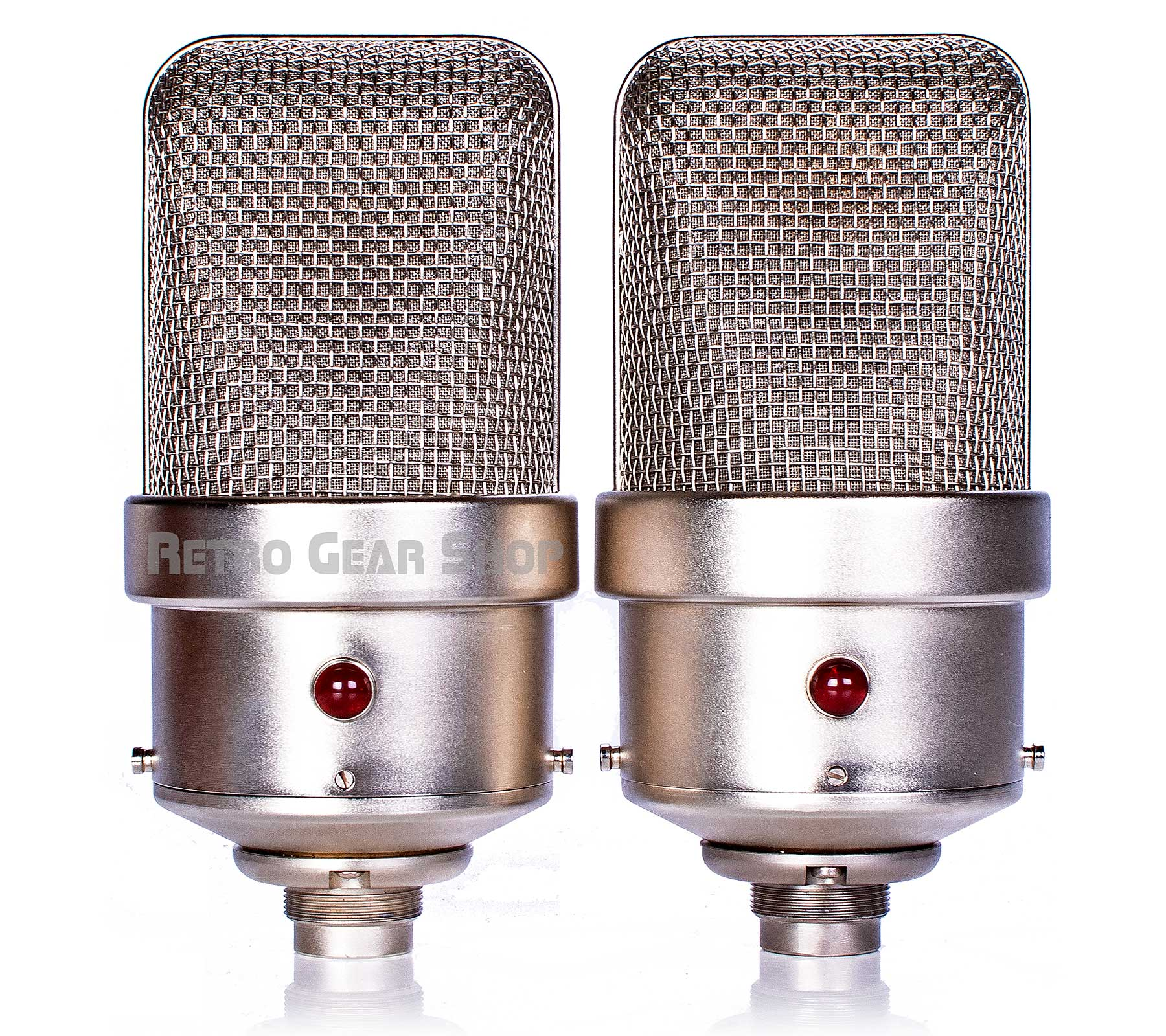 FLEA Microphones 49 Sequential Stereo Matched Pair Front