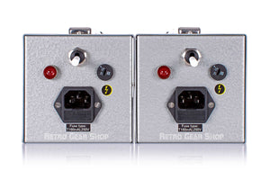 FLEA Microphones 50 Sequential Stereo Pair Power Supply Front