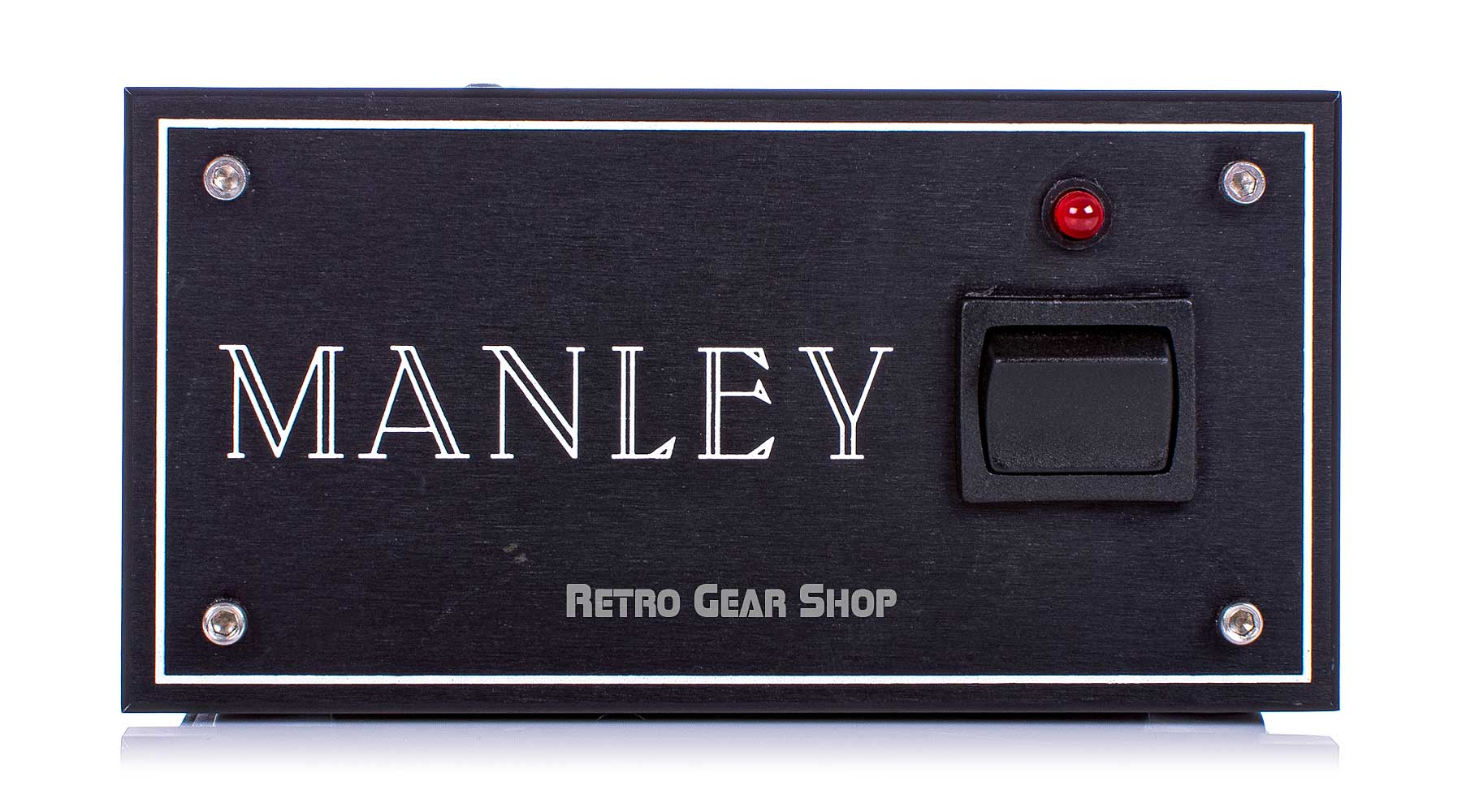 Manley Reference Gold Tube PSU Front