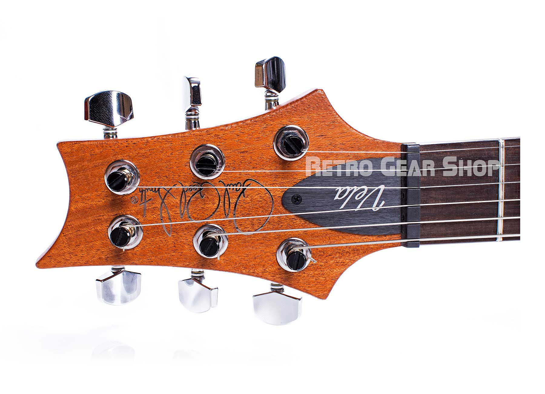 PRS S2 Vela Reclaimed Wood Limited Edition Headstock Tuners