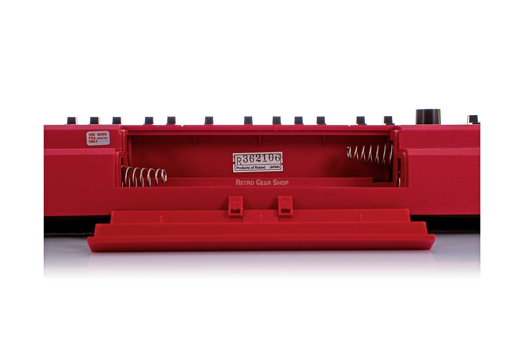 Roland SH-101 Red Battery Compartment #362106