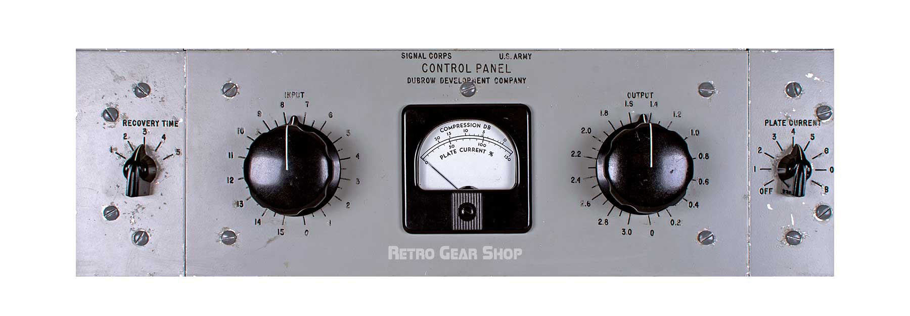 Signal Corps AF Amplifier AM-186A/FR Middle Front