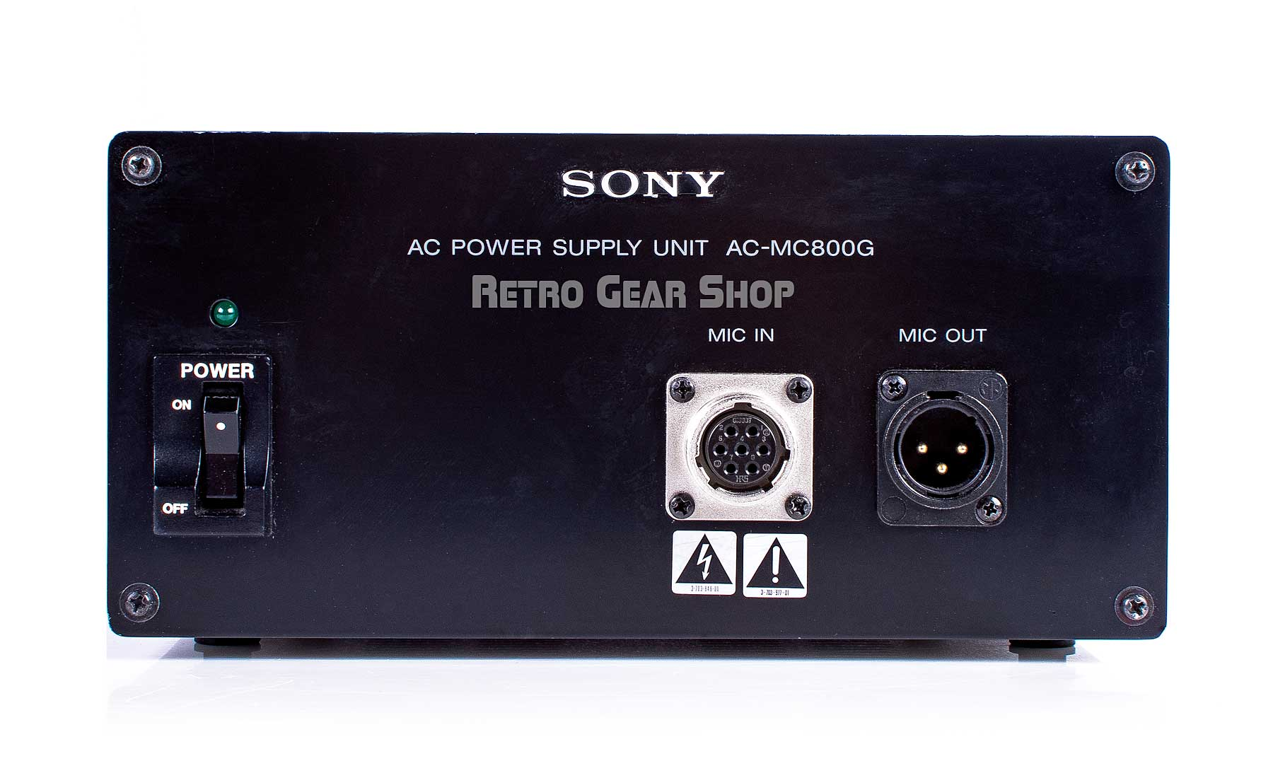 Sony C-800G Microphone Power Supply Front