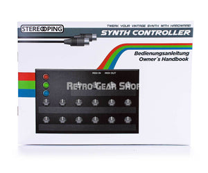 Stereoping CE-1 Thet4 Midi Controller for DSI Tetra Manual