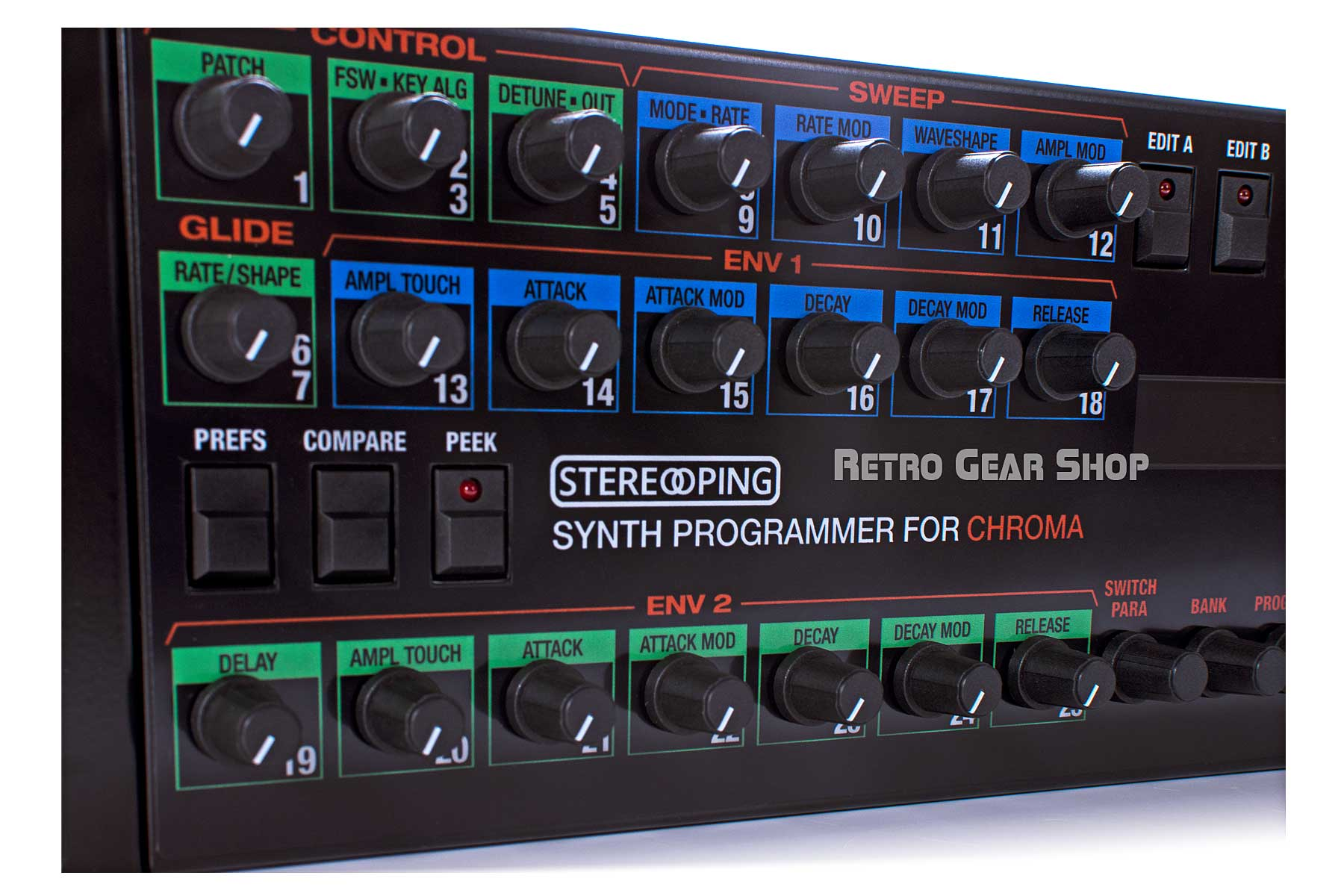 Stereoping Programmer Rhodes Chroma Midi Controller