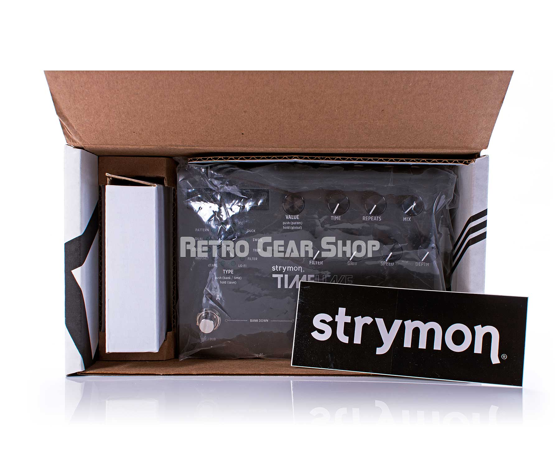 Strymon TimeLine Packaging