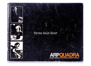 Arp Quadra Original Manual