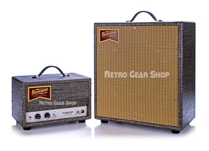 Benson Amps Earhart Head Night Moves 1x12 Cabinet Wheat Grill