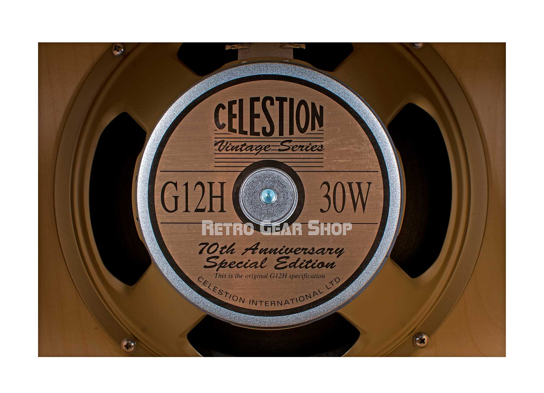 Benson Amps Monarch 1x12 Cabinet Night Moves Silver Grill Speaker Celestion G12H 30W