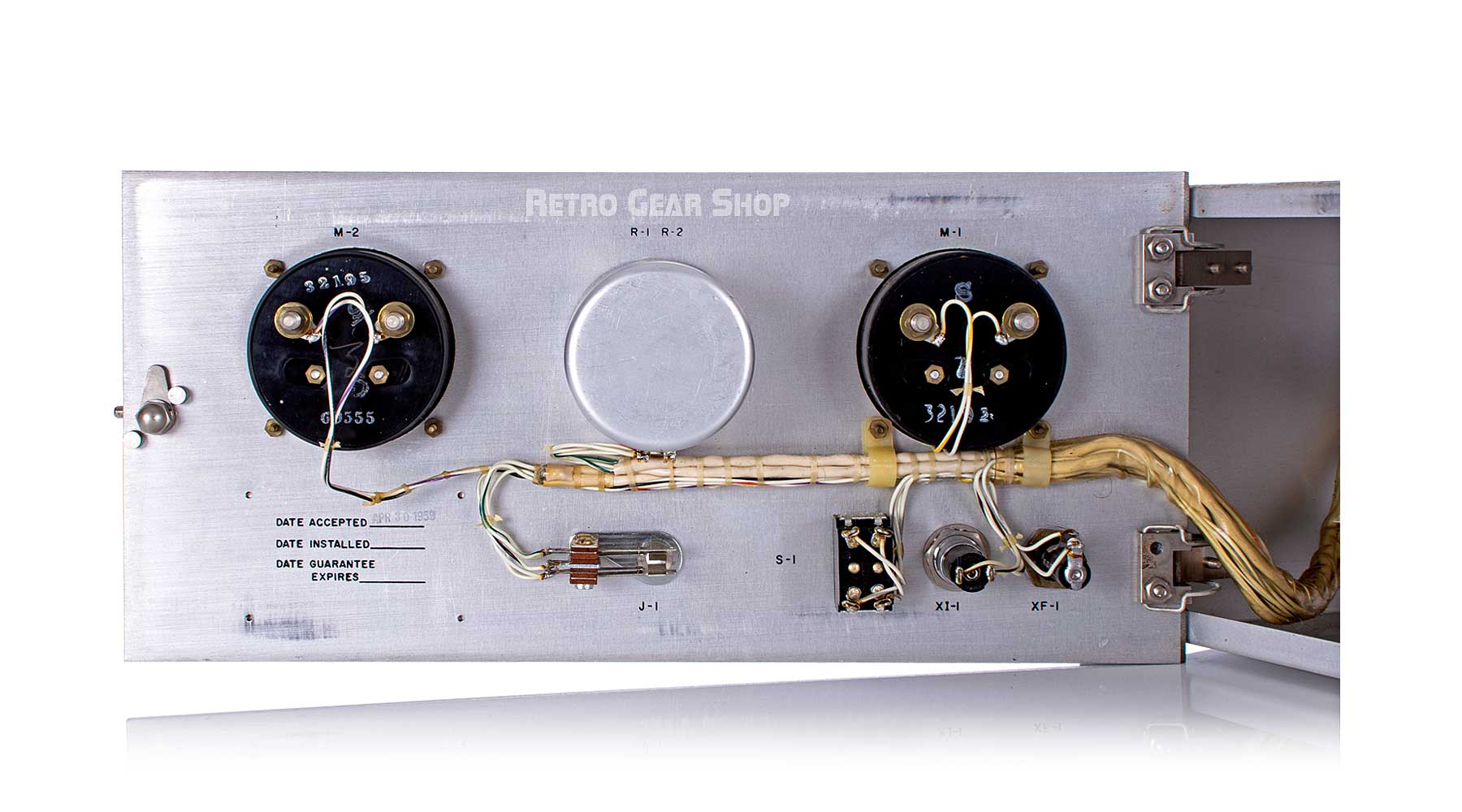 U.S. Department of Commerce CAA Tritronics Laboratory Internals Faceplate