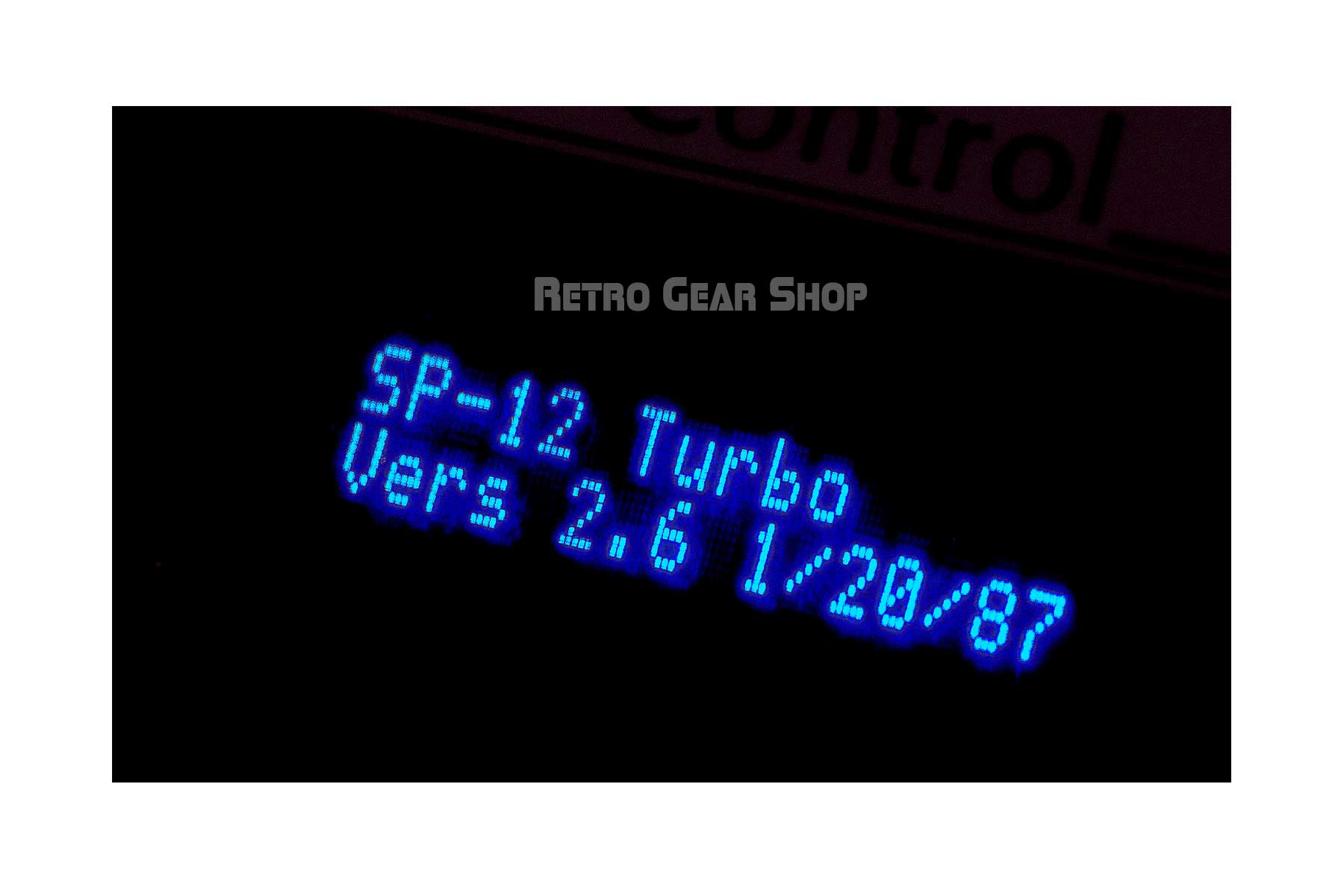 Emu SP-12 Turbo Custom Upgrades Noritake Blue VFD Display Screen