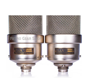 FLEA Microphones 49 Sequential Stereo Matched Pair Rear