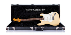Don Grosh NOS Retro Swamp Ash Mary Kay Strat 2016 Electric Guitar Case Open