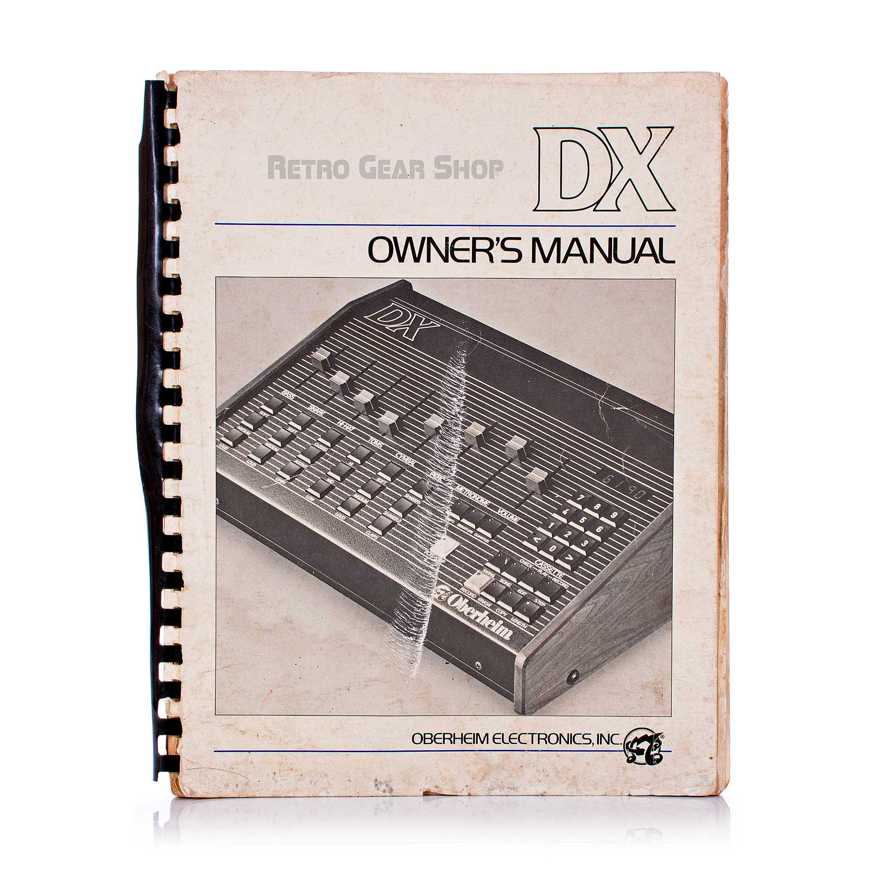 Oberheim DX Original Manual