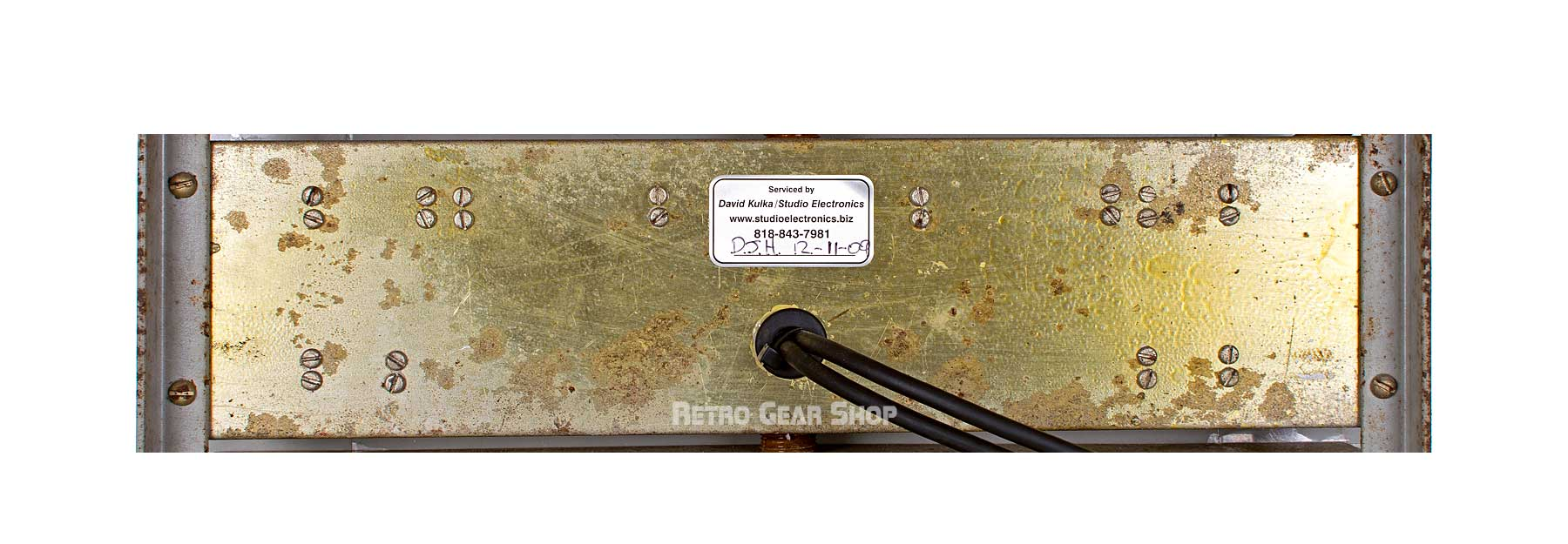 Signal Corps AF Amplifier AM-186A/FR Middle Rear