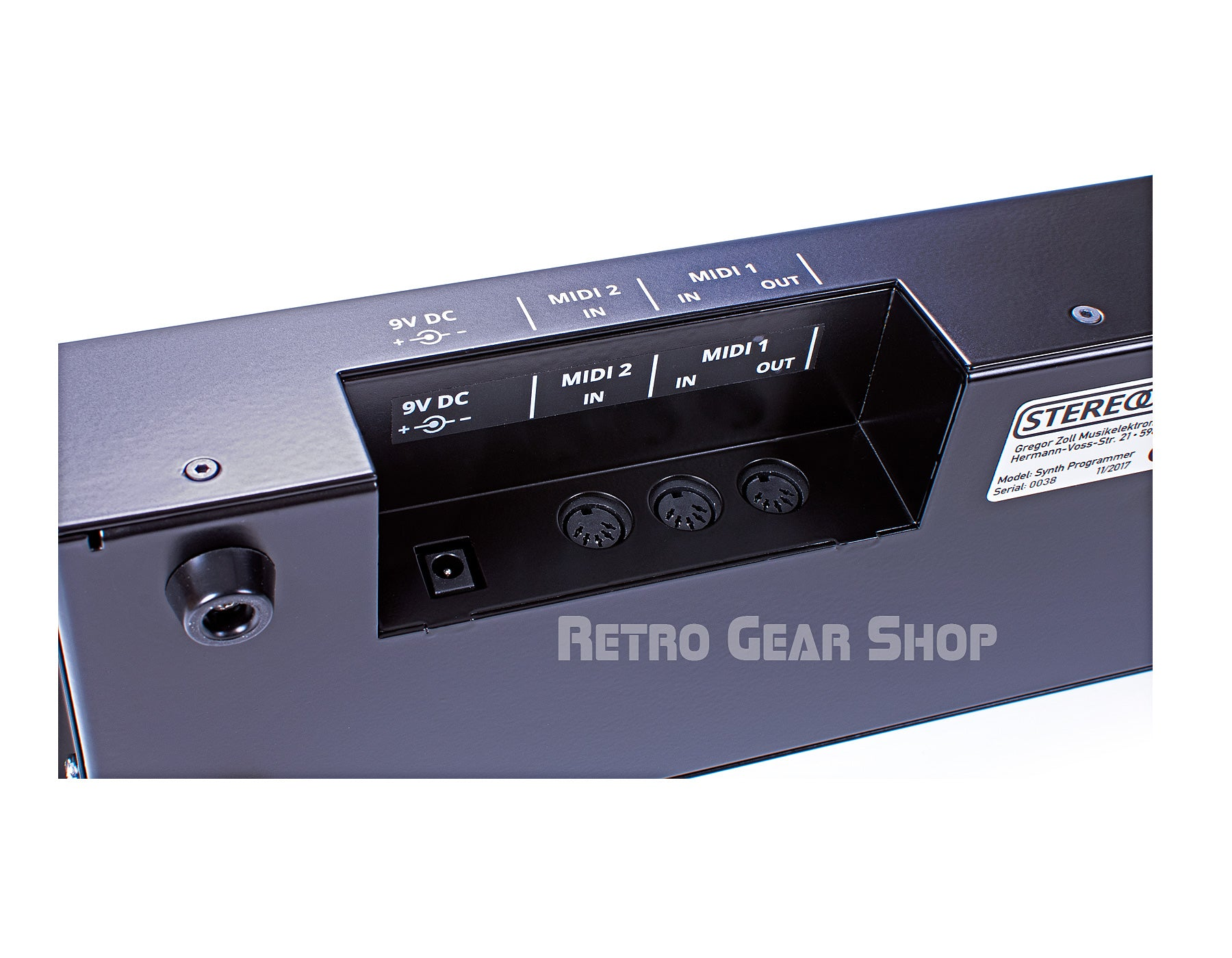 Stereoping Programmer Roland MKS-80 Rear Connections