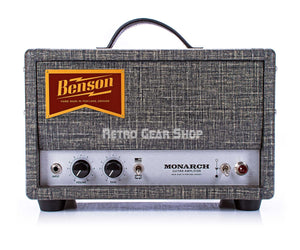 Benson Amps Monarch Head Night Moves Front