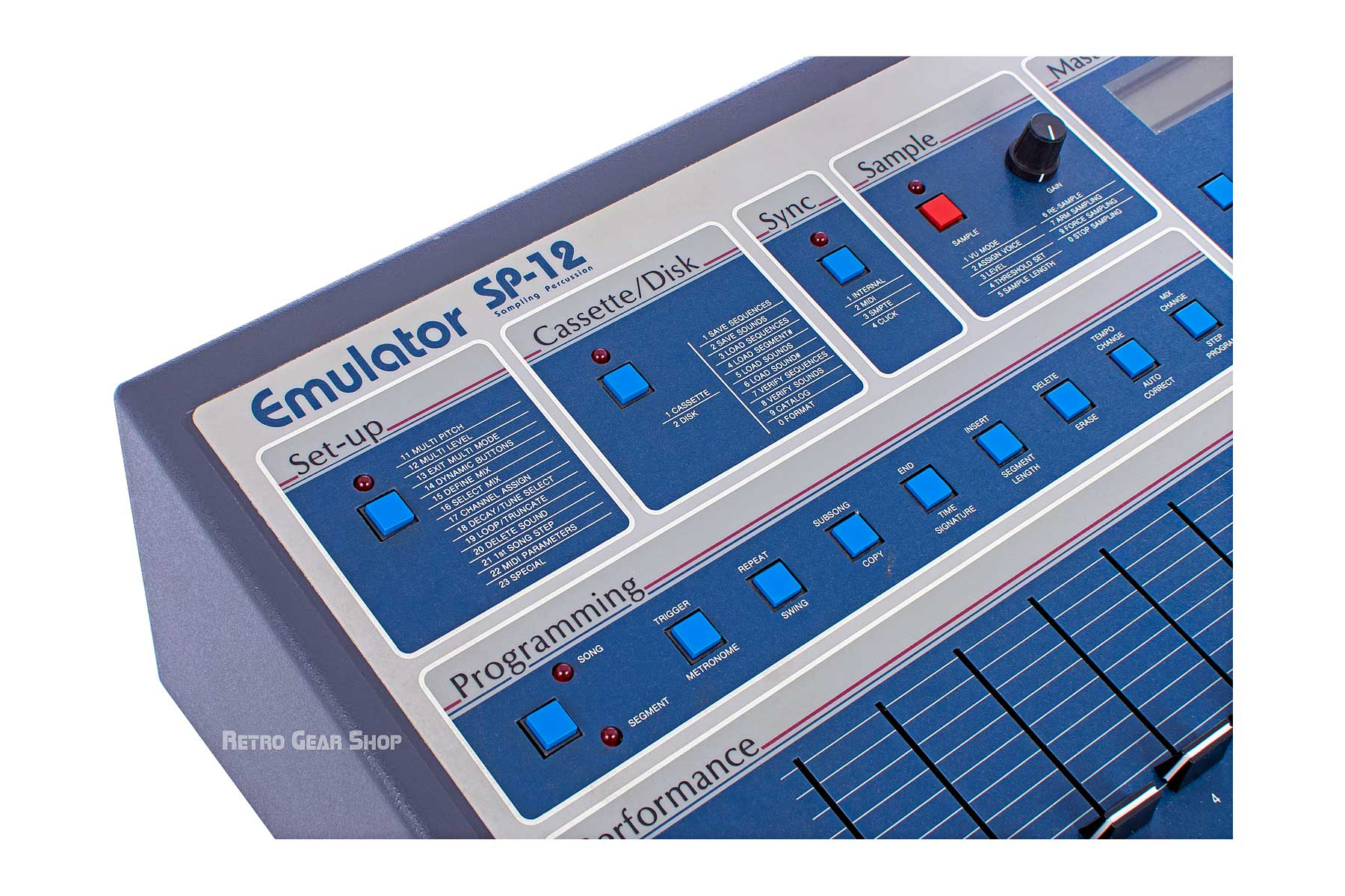Emu SP-12 Turbo #14 Sampling Percussion