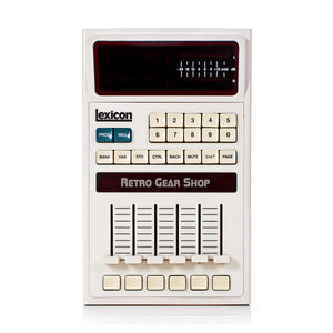 Lexicon 480L V4.10 + Sampling Card LARC Remote Front
