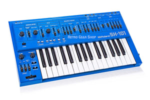 Roland SH-101 Blue Vintage Rare Analog Mono Synth Keyboard