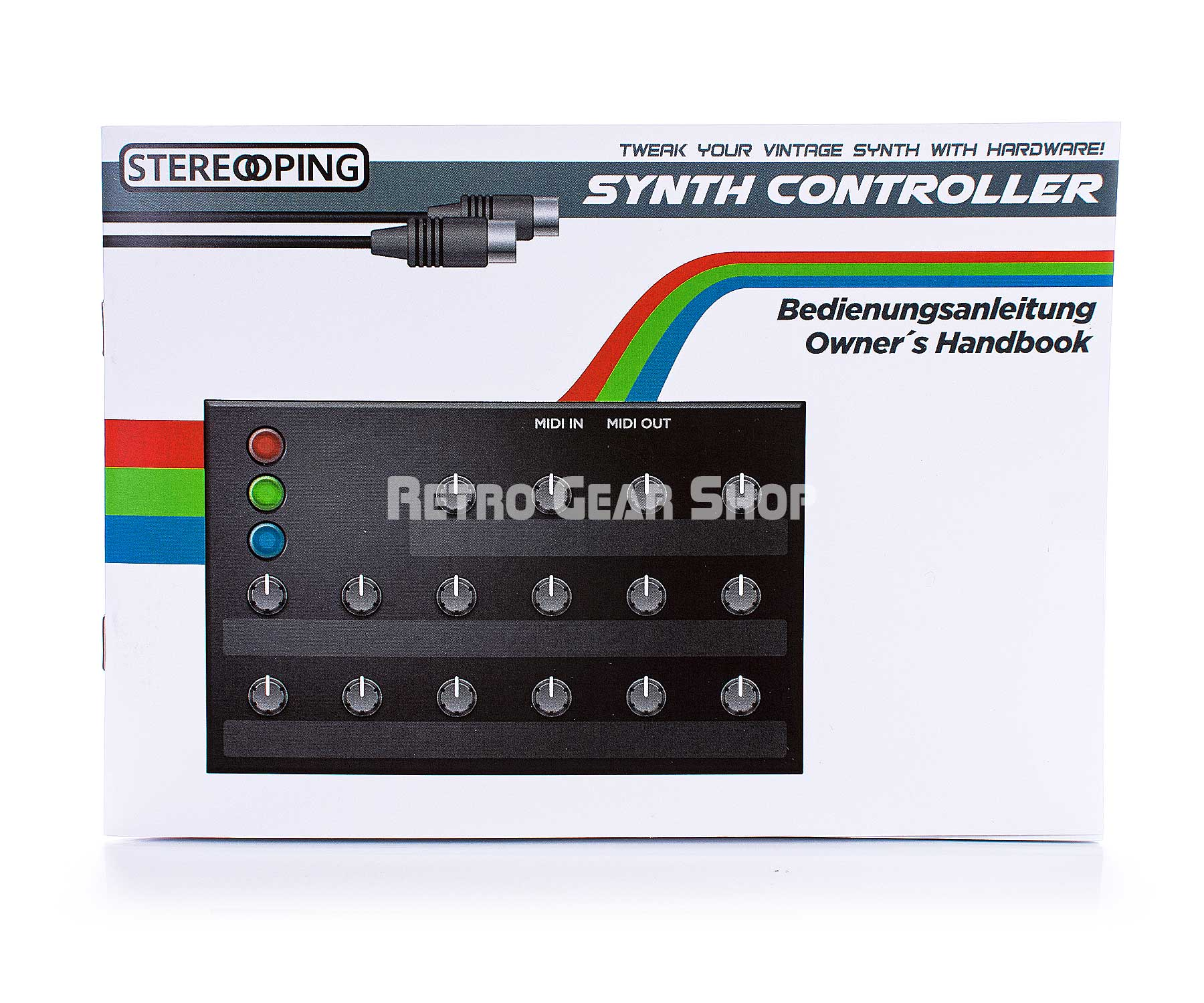 Stereoping CE-1 Revolver Midi Controller for DSI Evolver Manual