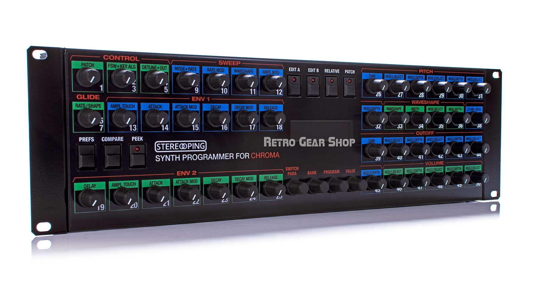Stereoping Programmer Rhodes Chroma Rare Midi Controller