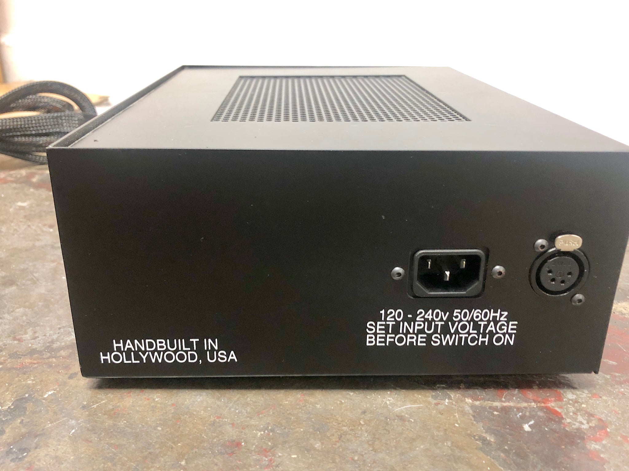 Aurora Audio Sidecar Power Supply