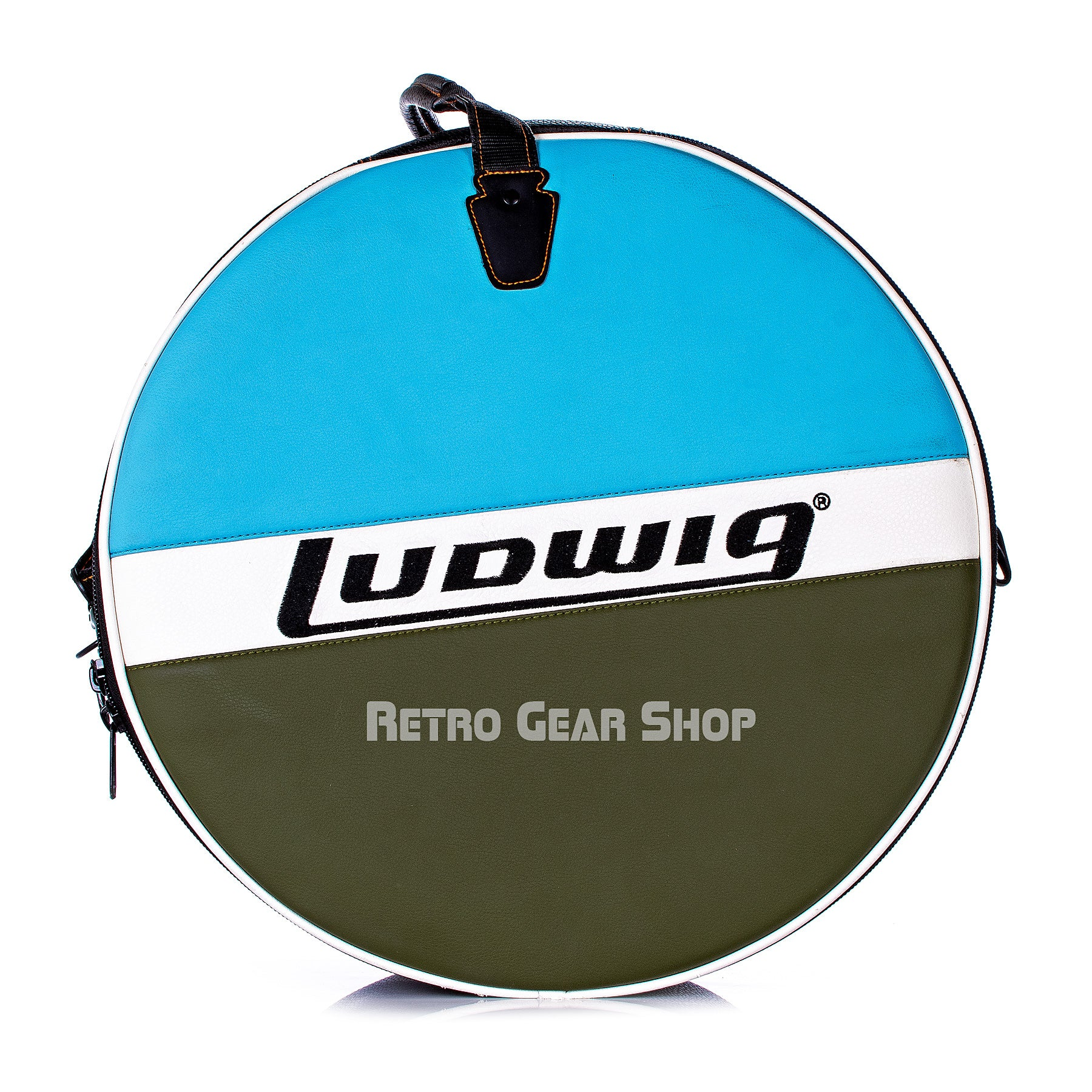 Ludwig Chrome Brass Snare Drum Padded Soft Case
