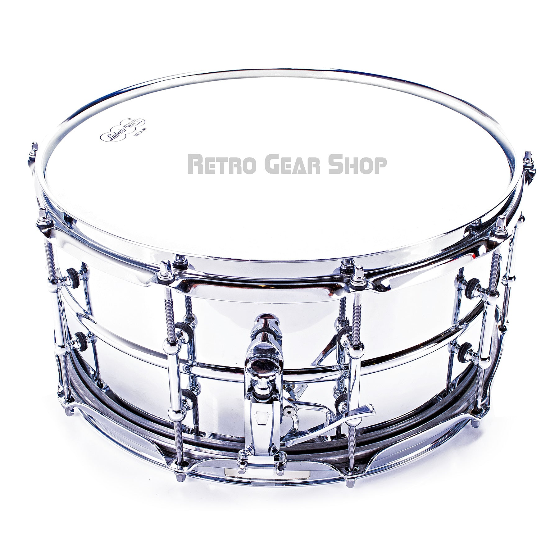 Ludwig Chrome Brass Snare Drum