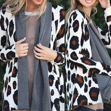 Load image into Gallery viewer, Lapel  Leopard Printed Cardigans - yoyosfashion