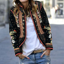 Load image into Gallery viewer, Outerwear Floral Embroidery Blazer Fashion Vacation - yoyosfashion