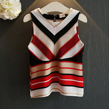 Load image into Gallery viewer, Girls Stripe Two Pieces Set Without Accessory - yoyosfashion