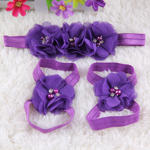 Elastic Kids Hair Accessory & Feet Accessories - yoyosfashion