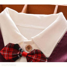 Load image into Gallery viewer, Gentleman Bowtie Long Sleeve Three Pieces Set - yoyosfashion