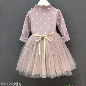 Fresh Polka Dots Tulle Dress - yoyosfashion