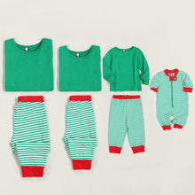 Load image into Gallery viewer, Contrast Stripes Cotton Family Pajamas - yoyosfashion