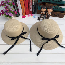 Load image into Gallery viewer, Mom Girl Bowknot Decorated Matching Cap - yoyosfashion