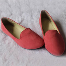 Load image into Gallery viewer, Plain  Flat  Velvet  Round Toe  Casual Flat & Loafers - yoyosfashion