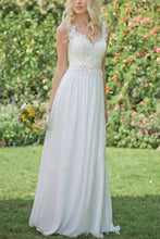 Load image into Gallery viewer, Sexy Elegant White Sleeveless Evening Dress - yoyosfashion