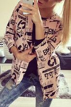 Load image into Gallery viewer, Cotton  Basic  Autumn Letters Jackets - yoyosfashion