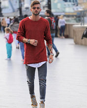 Load image into Gallery viewer, Basic Slim Long Sleeve Sweater - yoyosfashion