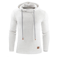 Load image into Gallery viewer, Fashion Plain Jacquard Weave Hoodie - yoyosfashion