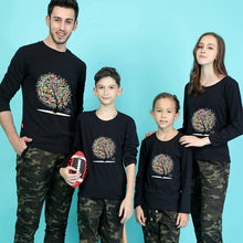 Load image into Gallery viewer, Family Cute Casual Slim Print Long Sleeve Top Matching Outfit - yoyosfashion