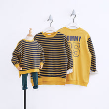 Load image into Gallery viewer, Fashion Round Collar Stripe Shirt Family Suit - yoyosfashion