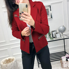 Load image into Gallery viewer, Lapel Long Sleeve Button Fashion Blazers - yoyosfashion