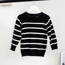 Load image into Gallery viewer, Fashion Round Collar Stripe Stars Sweater Family Suit - yoyosfashion